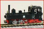 LGB 21701 - Occ. DR steam loco, with LENZ DCC decoder, slightly used