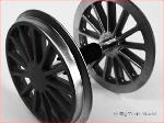 Piko 36080 - Chrome-plated wheel set BR 194, black