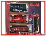 Piko 37104 - G-Start-Set Santa Fe Güterzug