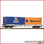 Piko 37751 - G-Containertragwagen mit 2 Containern DB AG VI - New 2019