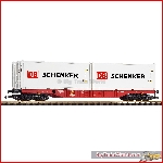 Piko 37753 G-Containertragwagen mit 2 Containern DB AG VI - New 2021