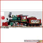 Piko 38215 - G-Dampflokomotive mit Tender Mogul Christmas, Sound - New 2015