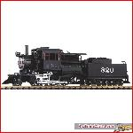 Piko 38243 - G-Dampflokomotive mit Tender SF 2-6-0 Camelback, Sound - New 2015