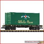 Piko 38709 - G-Containerwagen WP&YR m. Container - New 2015