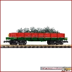 Piko 38762 - G-Niederbordwagen Christmas Tree Express - New 2018