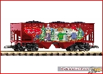 Piko 38899 G-Hopper Car Naughty List Lump of Coal Hopper - New 2019