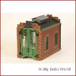Pola 330911 Build - Pola, locomotive shed, smal part of 330911. build, new
