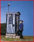 Pola 330916 Track-side telephone booth | Big Train World