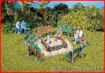 Pola 330979 6 Benches | Big Train World