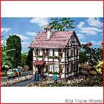 Pola 331712 - Half-timbered house with stork