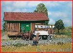Pola 331855 - Beer wagon with horses