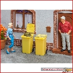 Pola 333225 - 2 Refuse bins, yellow