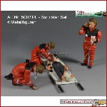 Prehm Miniaturen 500133 - Sanitäter Set, 4 Figuren - New 2017