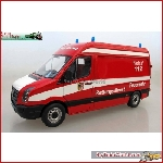 Prehm Miniaturen 500300 - The fire brigade ambulance VW Crafter - New 2017