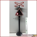 Prehm Miniaturen 510522 - Railroad Crossing Sign, incl. elektronik - New 2016