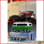 Prehm Miniaturen 530003 - VW Bus T1 (ca. 1:22,5) mit Soundmodul, MP3 Player, Rad