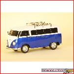 Prehm-Miniaturen 530003 - VW Bus T1, FM radio, mp3, lighting - Blue - 1:22,5