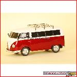 Prehm-Miniaturen 530003 - VW Bus T1, FM radio, mp3, lighting - Red - 1:22,5