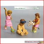 Prehm-Miniaturen 550114 - Kinder 3 Figuren  Set 4