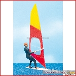 Preiser 44927 - 1:22,5 Windsurfer - New 2015