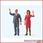 Preiser 57152 - 1:24 President Obama en First Lady