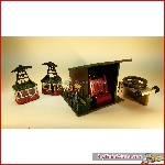 Rigi 91013. Cable car Christmas edition, Automatic, used, no box