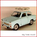 Road Signature 24217 - Trabant 601 S Deluxe light blue 1:24