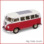 Schuco 3317071 - Volkswagen T1 Bus red / white 1:24
