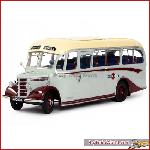 Sun Star 5006 - Bedford OB - Duple Vista Coach - Grey Cars - Scale 1:24 diecast