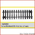 Train Line45 1025050 - Schwellenband US-Version, schwarz, Tie set ~1', US Versio