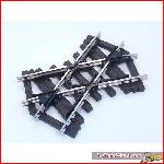 Train Line45  1030970 - crossing 45° small, nickel plated