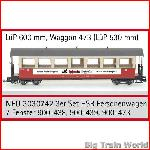 Train Line45 3030742 - 3er Set HSB Personenwagen 7 Fenster  900-438, 900-439, 90