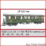 Train Line45  3035731 - 3-car set RhB passenger cars AB 1506, AB 1507, AB 1508
