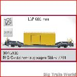 Train Line45  3045100 - RhB container car Sbk-v 7709