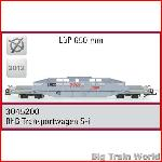 Train Line45  3045200 - RhB transport car S-I