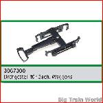 Train Line45  3067300 - Boogie (truck) for HSB cars, without wheels