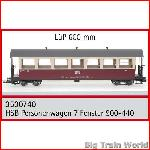 Train Line45  3530740 - HSB passenger car 900-440