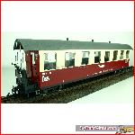 "Train Line45  3530760 - HSB passenger car, 8 windows, 900-517 ""Buffet"" incl. kit"