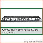 Train Line45  7010002 - Lattice truss bridge, 120cm straight