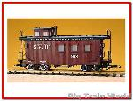 USA Trains R12021 - SUMPTER VLY WOODS CABOOSE, Pin & Link coupler, Good conditio