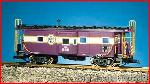 USA Trains R12061 - A C L BAYWINDOW CAB - PUR/SILV