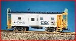 USA Trains R12063 - CSX BAYWINDOW CAB - GRAY/BLU/Y