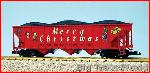USA Trains R14025 - CHRISTMAS 70 TON HOPPER - RED