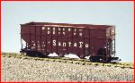 USA Trains R14077 - SANTA FE WOODCHIP - MINERAL BR