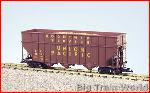 USA Trains R14078 - UP WOODCHIP CAR - RED OXIDE