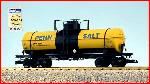 USA Trains R15124 - PENN SALT 10,000 GAL TANK - YE