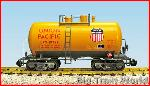 USA Trains R15223 - UP 29'BEER CAN TANK-ARMOUR YEL