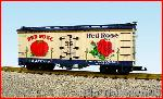 USA Trains R16333 - BN/RED ROSE TOMATOES WHT/BLUE