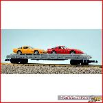 USA Trains R1723 - PENN Auto Flat Car w Corvettes