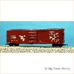 "USA Trains R19313 - 50""Steel Box car Burlington"